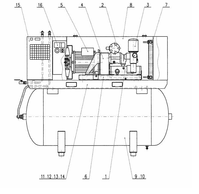 Схема компрессора Atmos